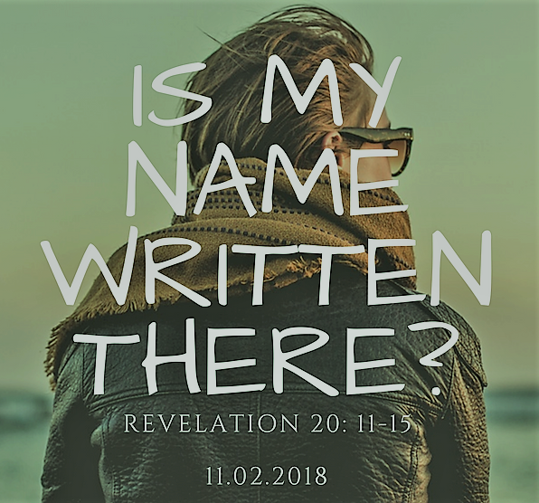 Is my name written there?