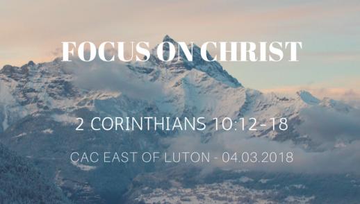 Focus on Christ