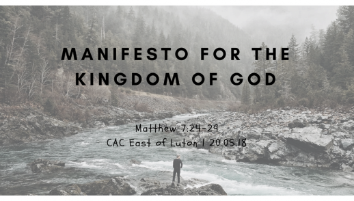 Manifesto for the Kingdom of God