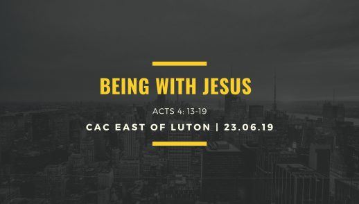 being with Jesus