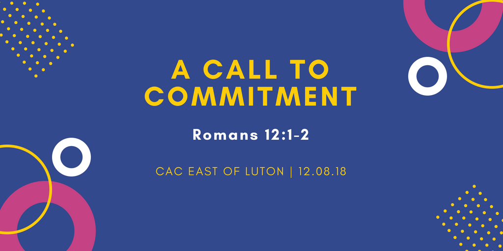 A call to commitment