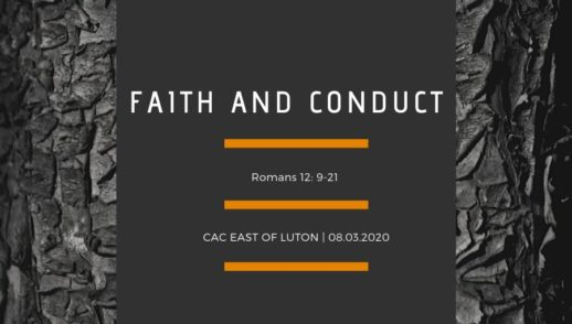 Faith and Conduct