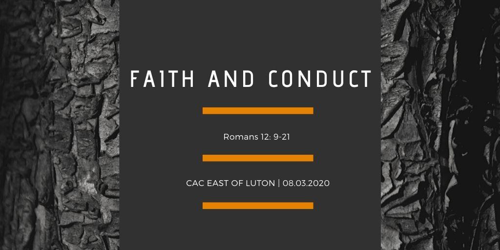 Faith and Conduct