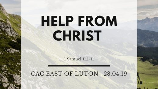 Help from Christ