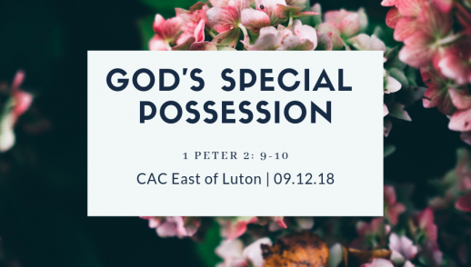 Special possession of God