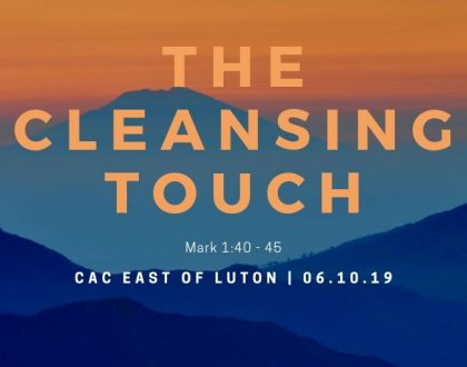 The cleansing touch