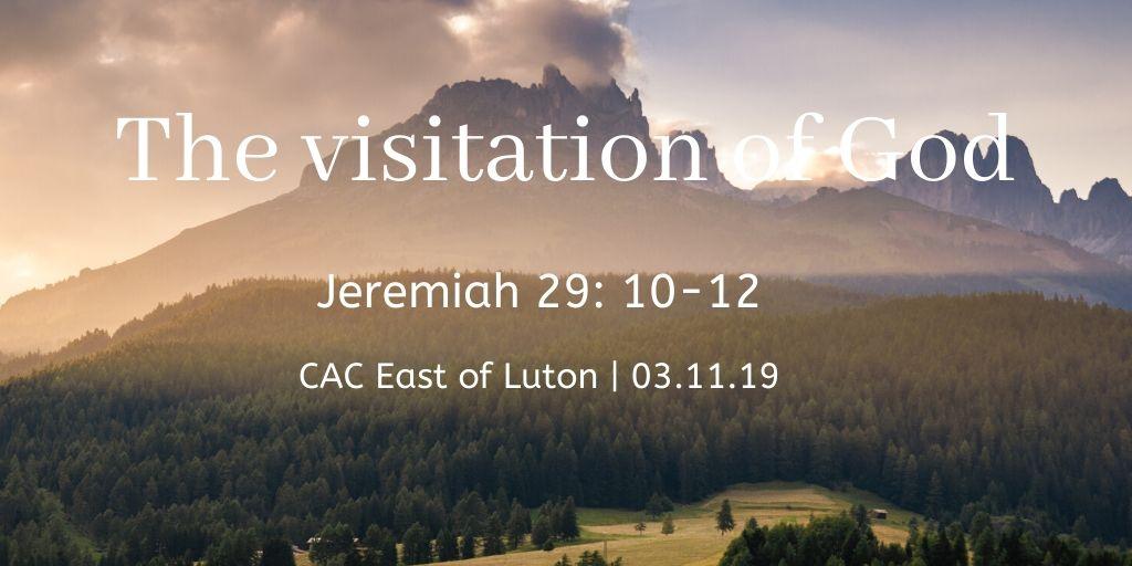 The visitation of God