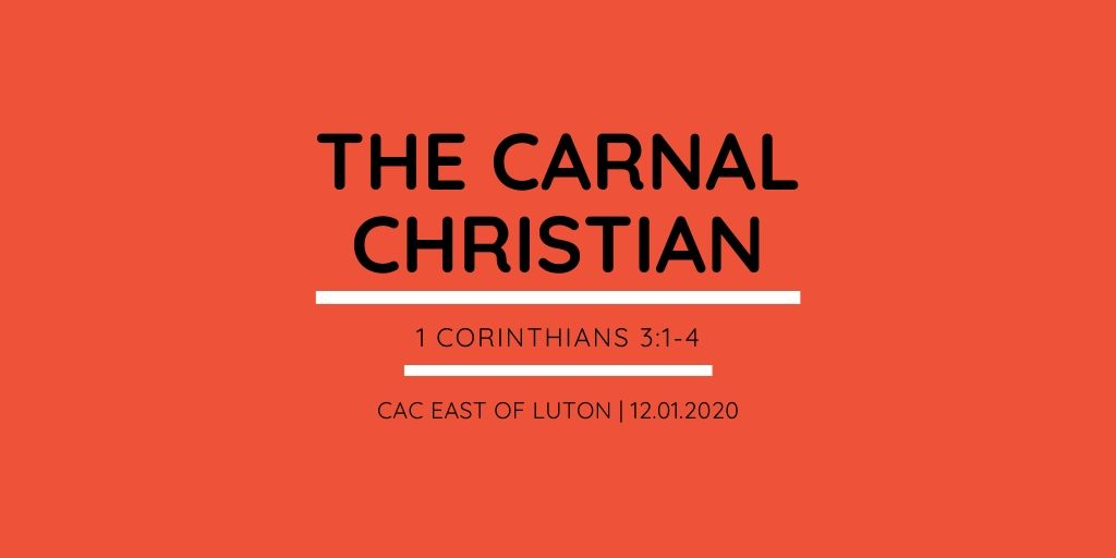 The Carnal Christian