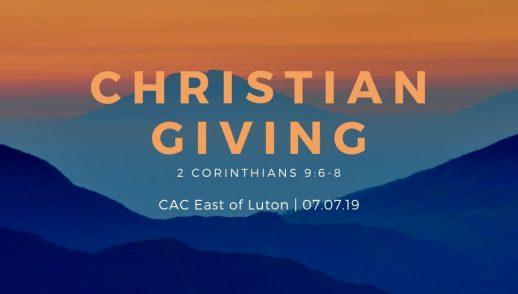 christian giving