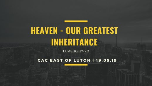 heavenly inheritance