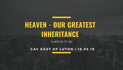 heavenly inheritance