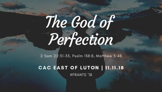 Perfect God